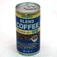 サンガリア ブレンドコーヒー微糖 185g缶【イー...
