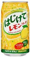 サンガリア はじけてレモンソーダ 350g缶【イー...