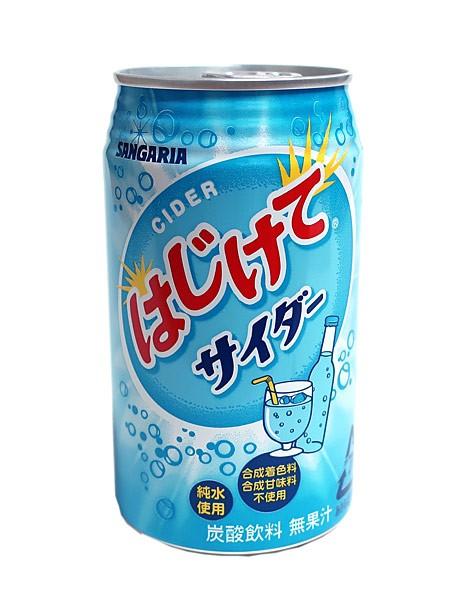 サンガリア はじけてサイダー 350g缶【イージャ...