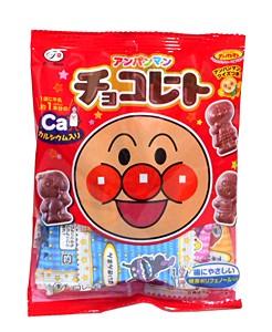 不二家 アンパンマンチョコレート 小袋 34g【...