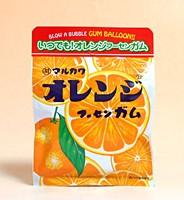 丸川製菓 チャック袋オレンジフーセンガム 47g...