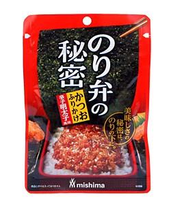 三島食品 のり弁の秘密カツオフリカケ辛子明太子...