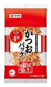 ヤマキ かつおパック 4P 2.5g【イージャ...