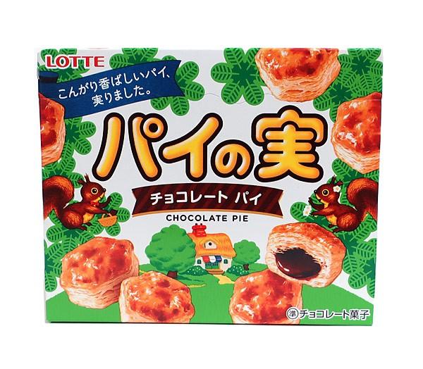 ロッテ パイの実 チョコレートパイ 73g【イー...