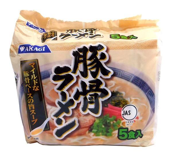 アカギ とんこつらーめん 5食パック【イージャ...