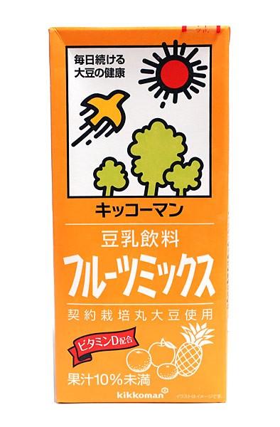 キッコーマン 豆乳飲料フルーツミックス 1L【イ...