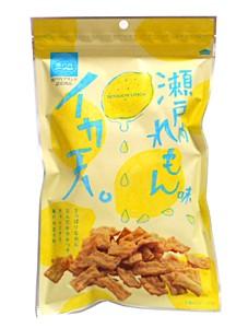 竹新 イカ天瀬戸内レモン味 85g【イージャパン...