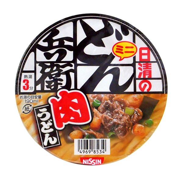日清食品(株) ミニどん兵衛 肉うどん 40g【イ...