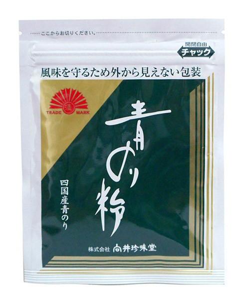 向井珍味堂 青のり粉 4g 四国産【イージャパン...