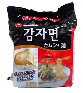 農心 カムジャ麺 4P袋【イージャパンモール】