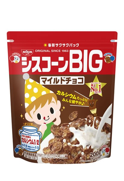 ★まとめ買い★ 日清シスコ シスコーンBIGマ...