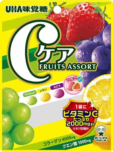 ★まとめ買い★ ユーハ味覚糖 Cケアフルーツア...
