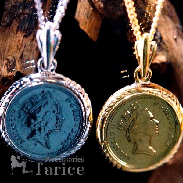 エリザベス女王&城塞の門レリーフ 1ペニーコイン...