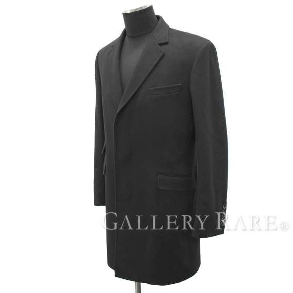 グッチ コート ウール ブラック メンズサイズ 48 ...