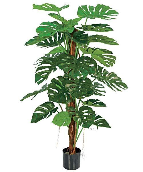造花  観葉植物 140cmジャンボスプリットフィロバ...