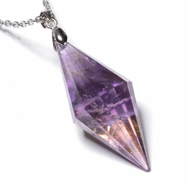 石輝 天然石 アメジスト 紫水晶 クリスタル ポイ...