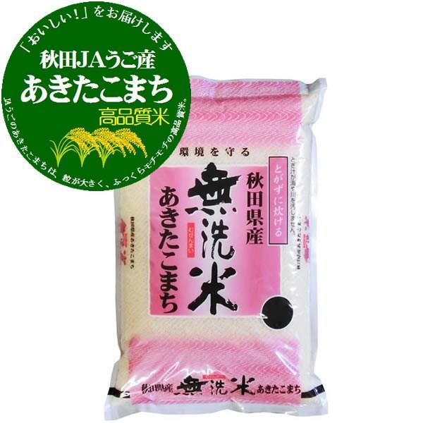 【送込】29年産 無洗米 特A受賞 秋田県うご産あき...