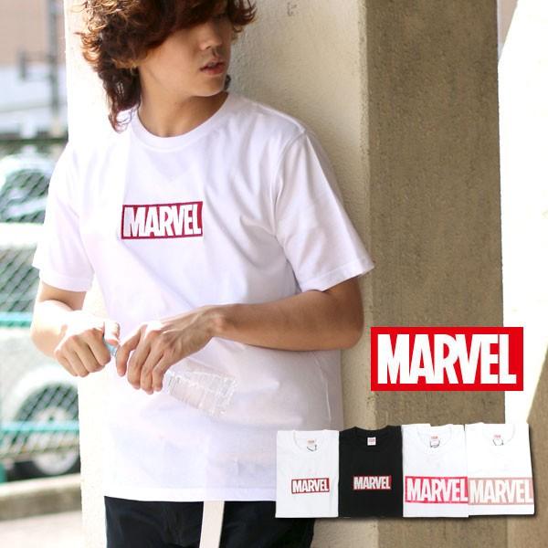 MARVEL Tシャツ 半袖 カットソー インナー メンズ...