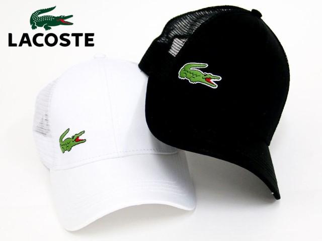【LACOSTE】【キャップ】【帽子】【スポーツ】帽...