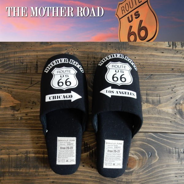 Route66 ルート66 スリッパ フリーサイズ