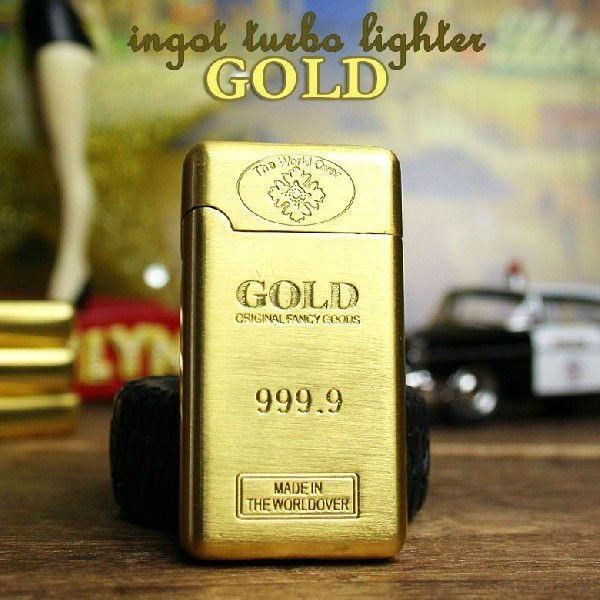 インゴット ターボライター Type3 GOLD ゴールド ...