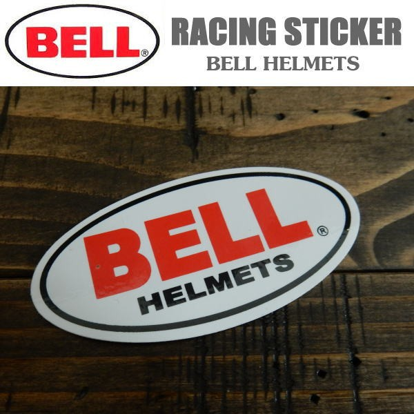 Racing Sticker BELL HELMETS ヘルメット ベル ス...
