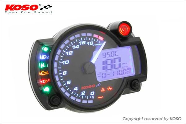 KN企画:KOSO RX2N+ LCDマルチメーター バックライ...