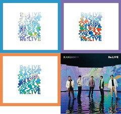 送料無料有/[CD]/関ジャニ∞/Re:LIVE [4タイプ一...