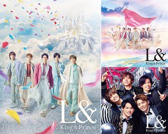 送料無料 特典/[CD]/King & Prince/L& [3タイプ一...