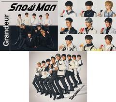 初回 特典/[CD]/Snow Man/未定 (3rdシングル) [3...
