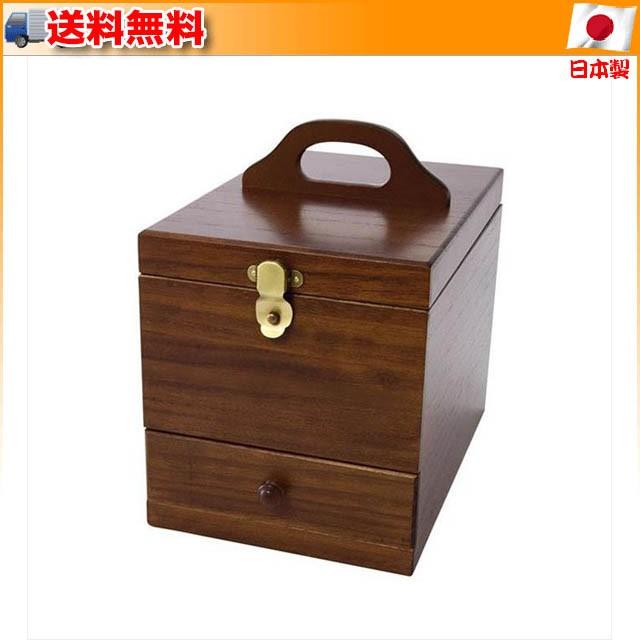 (送料無料)Wooden Case 木製コスメティックボック...