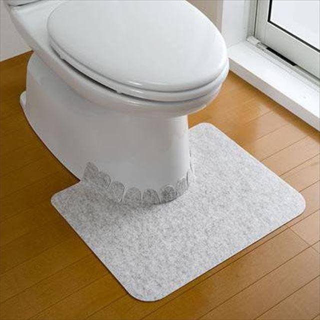 (送料無料)サンコー おくだけ吸着 大理石調トイレ...