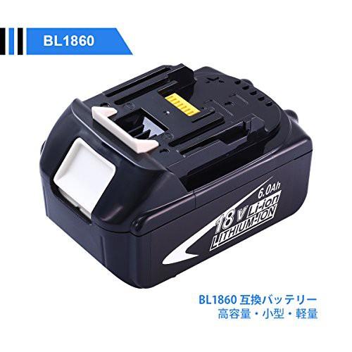 マキタ18v BL1860 6.0ah MAKITA 互換バッテリー B...