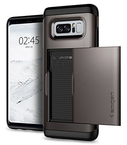 【Spigen】 Galaxy Note 8 ケース, [ IC カード収...