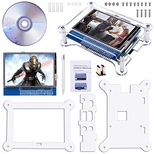 Quimat 3.5インチタッチスクリーン HDMIモニタTFT...