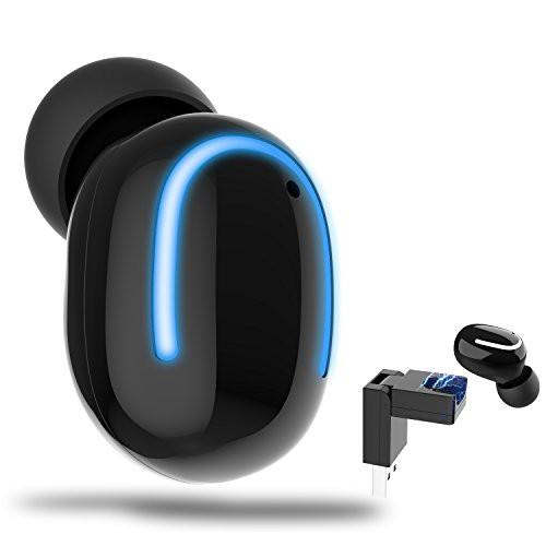 ワイヤレス USB 充電器付き Bluetooth ヘッドホン...