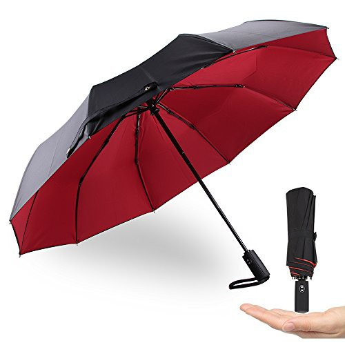 折りたたみ傘 ワンタッチ自動開閉 メンズ 大きい ...