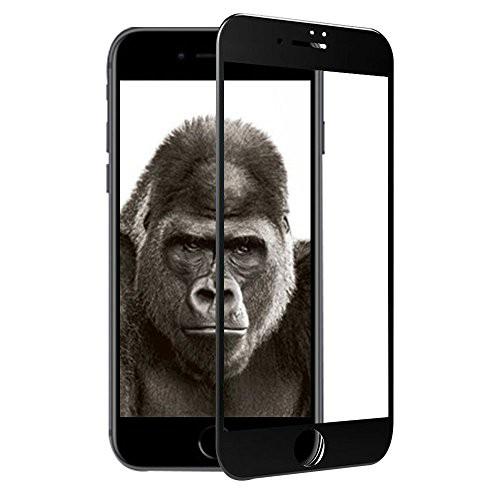 TCJOY iPhone8 強化ガラス 液晶保護フィルム ゴリ...