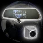 【新品/取寄品】ミラー型360度全方位ドライブレコ...