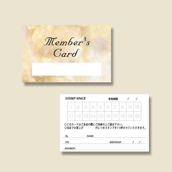 【ネコポス可能】メンバーズカード シングルタイ...