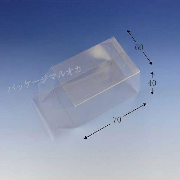 組立て式クリスタルボックス V- 6 透明容器 100...