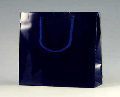 手提げ紙袋 ブライトバッグ GM 紫紺 33cm巾 10枚...