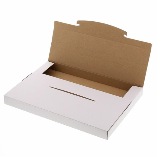 ラクポスボックス 312-25 白 ネコポス最大サイズ...