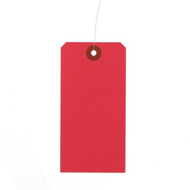 新 荷札 豆 30×60 赤 1000枚