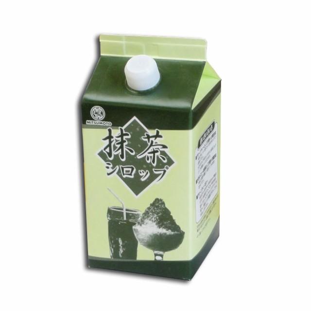抹茶シロップ 900ml 氷蜜用 1個