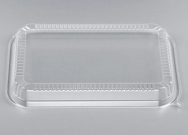 【直送/代引不可】弁当容器 CZ-8 透明蓋 500枚