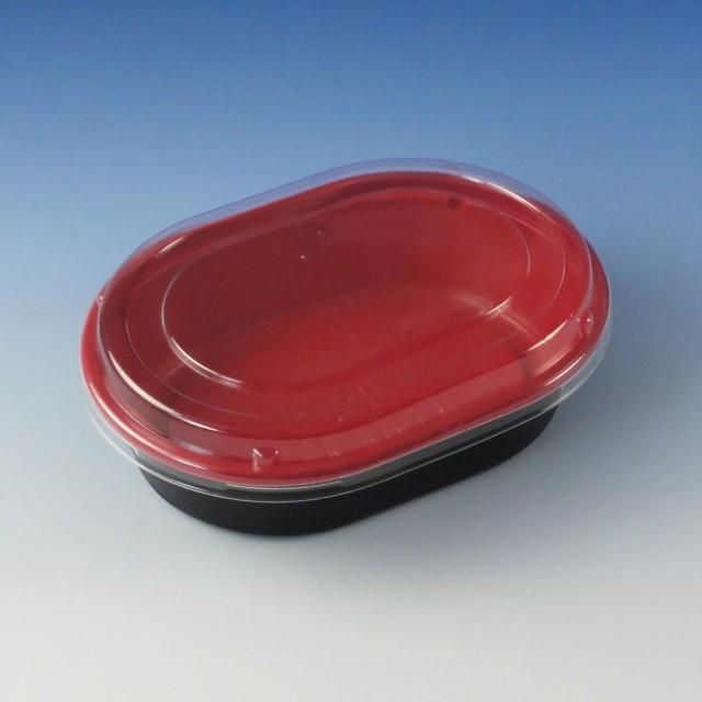 弁当容器  CTプチ丼小判 R-B(蓋付) 50枚