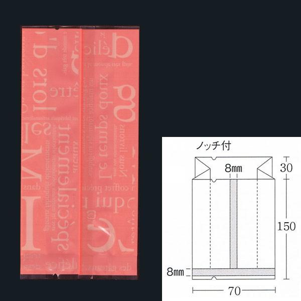 合掌ガゼット袋 GT No22洋柄ピンク バラ 脱酸素剤...