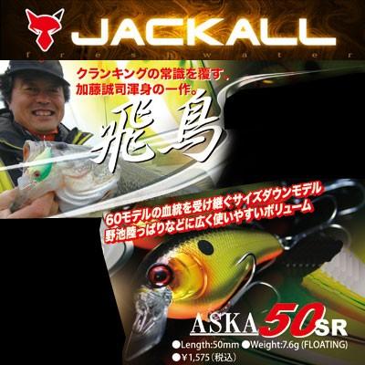 【在庫限定30%OFF】ジャッカル アスカ 50SR (1)...