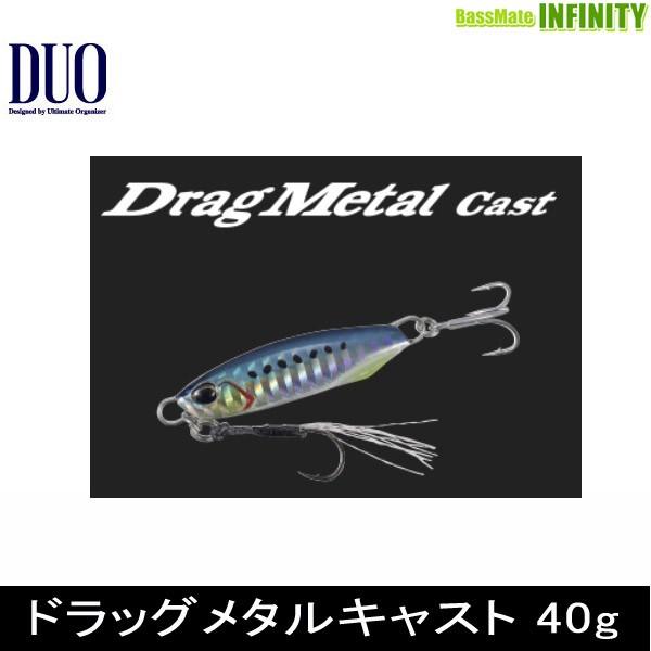 ●デュオ ドラッグメタルキャスト 40g 【メール...